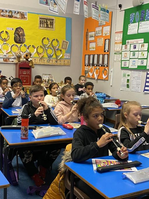 Year 3/4 Recorder lesson