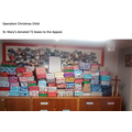 Operation Christmas donations