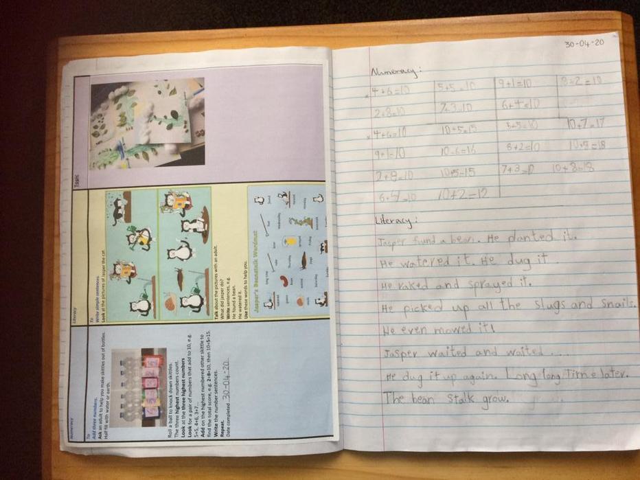Jasper's Beanstalk. Story written by Rola!!