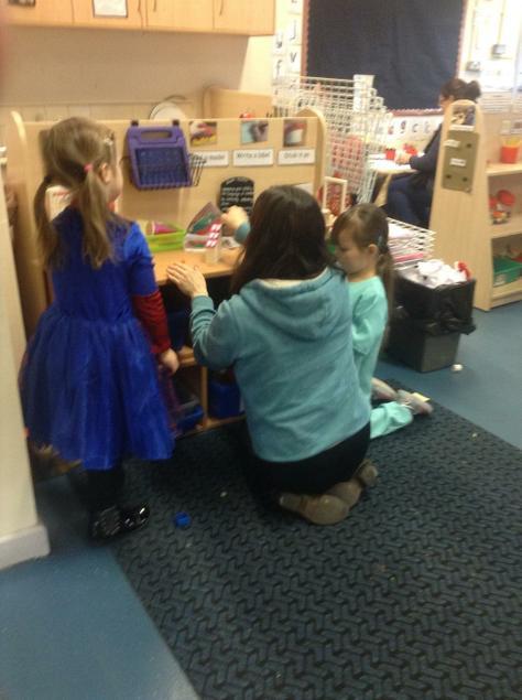 """Lots of fun, enjoyed seeing them learning through play"""