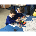 We practiced our problem solving skills by using Cuisenaire to create pictures