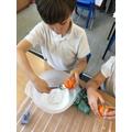 Mummifying oranges