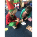 We took part in 'Elf School' and did lots of activities to help Father Christmas