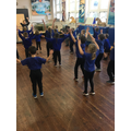 PE with a specialist sports coach