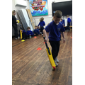Cricket Engagement - A cricket coach came in and taught us some skills!