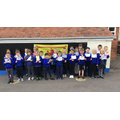 Somerset Day - We learnt about the Somerset flag and designed our own.