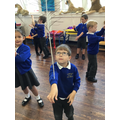 Circus School - We learnt how to balance feathers