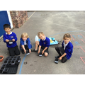 Using a range of equipment for a practical task
