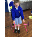 Circus School - We learnt how to use flower sticks