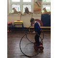 Circus School - We learnt how to ride pedal bikes