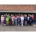 Pyjamarama Day - We had fun coming to school in our Pyjamas and sharing lots of stories