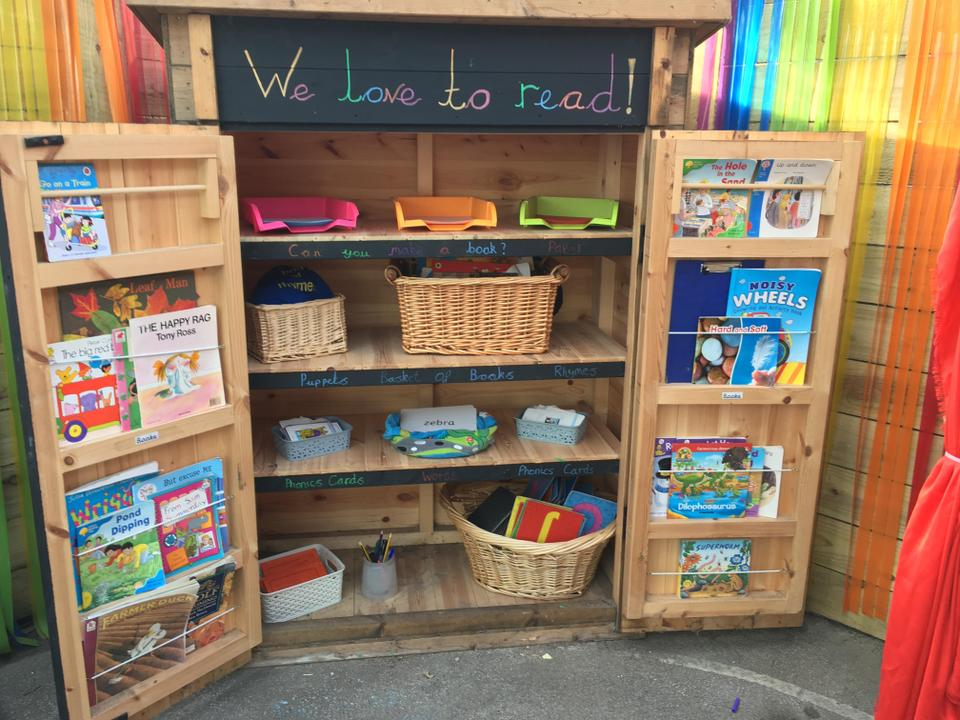 Outdoor Reading Shed