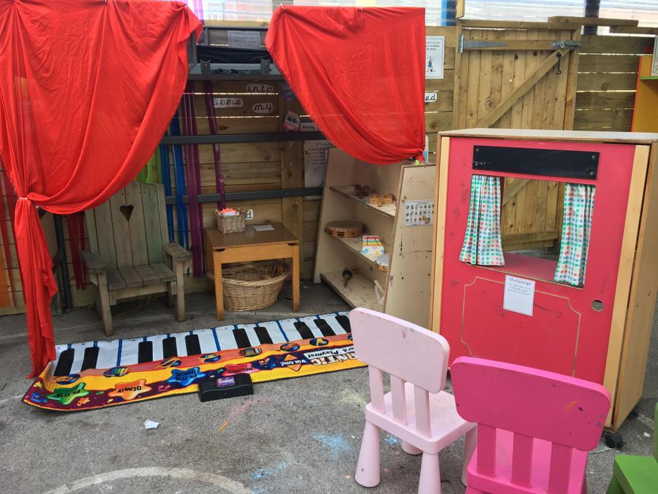 Outdoor Music Area
