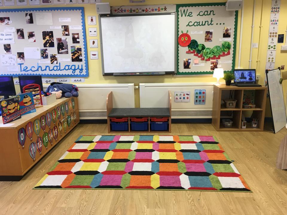 Our F1 Carpet Area