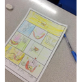 Our Year 4 Eagles created comic strips based on Lucy's story.