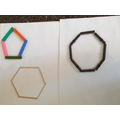 Home learning - making 2D shapes