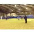 Year 5/6 Girl's Football match against Redeemer