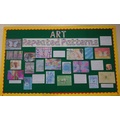 Lion's Art Display Board Summer 1
