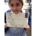 We met a new character this week, Mr Badger! We have found vocabulary to describe him!