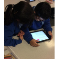 Our Year 3 Owls completing online safety quizzes using the ipads!