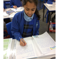 Writing thank you letters to the NHS