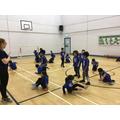 Dancing in PE