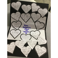 On World Kindness Day, we made a card full of kind thoughts for the charity Nightsafe!