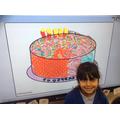 Designing a cake