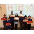 Golden Dip Winners 20th December 2016