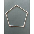 Home learning - making a pentagon shape