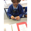 We have been exploring finding quarters of a shape!