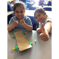 We have been building the base of our vehicles with the chassis, wheels and axels!