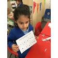 Ordering numerals