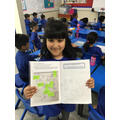 Our super writer!!