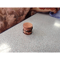 I wonder if we can make functioning batteries out of old coins?