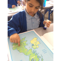 We have enjoyed identifying different weather in our country for our weather reports!