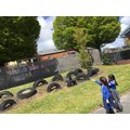 Exploring physical and human features of our school grounds