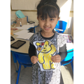 Children In Need Day colouring