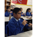 Learning to play the Recorder.