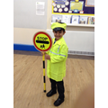 Learning all about road safety in our safety week.