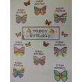 Birthday wishes from our Year 1 Butterflies