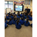 Learning about Road Safety.