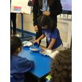 Investigating waterproof materials - cornflakes investigation
