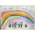 We explored a beautiful story called 'Rain Before Rainbows' to end our Spring 1 term.