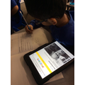 We have been researching the famous author Roald Dahl as part of our new English topic!