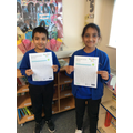Winners of the Reforestation activity.