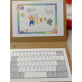 The children in Breakfast Club loved making their own laptops for Online Safety!