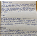 Example of a piece of evaluative writing