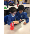 Our Y3 Owls completing online safety quizzes during Safety Week!
