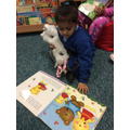 Our Nursery Visit the School Library